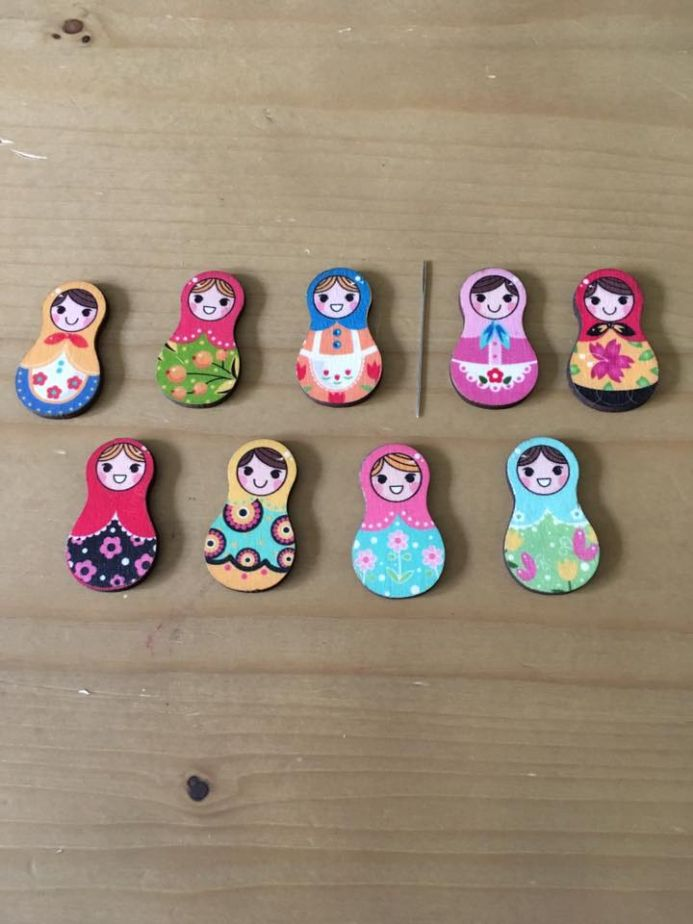 Russian Doll Needle Minder
